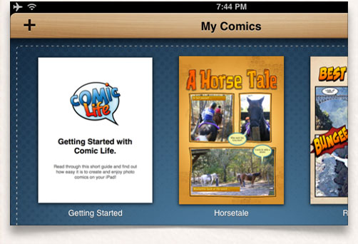 Comic collections keep all your comics in tidy 'groups'